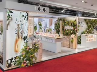 Un bouquet de fleurs haute couture « made in DIOR »